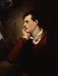 Portrait of Lord Byron by Richard Westall