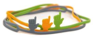 Fred and Friends FingerPrint bookmark