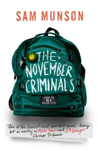 The November Criminals cover
