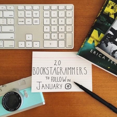 20 Bookstagrammers to follow in January