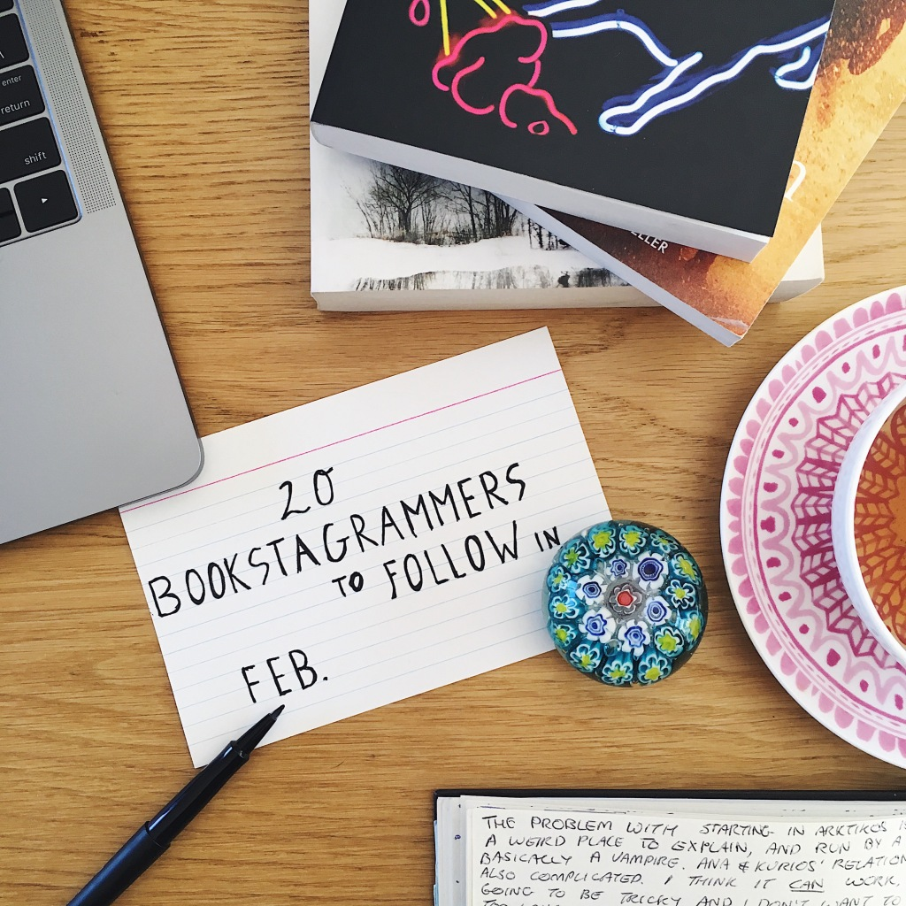 20 Bookstagrammers to Follow in February Sign