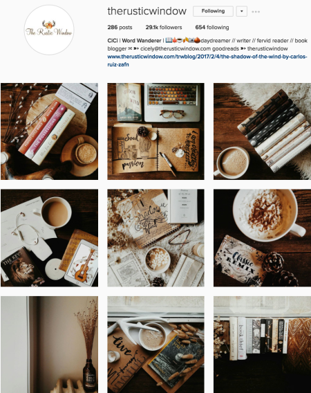 @therusticwindow Instagram account preview