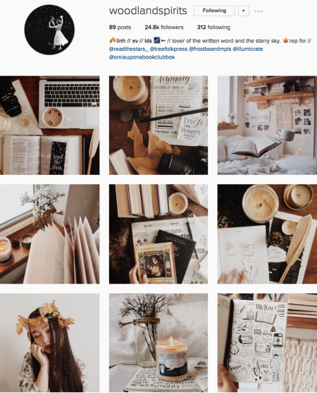 @woodlandspirits Instagram preview