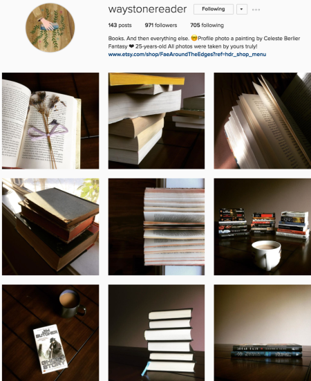 @waystonereader Instagram preview