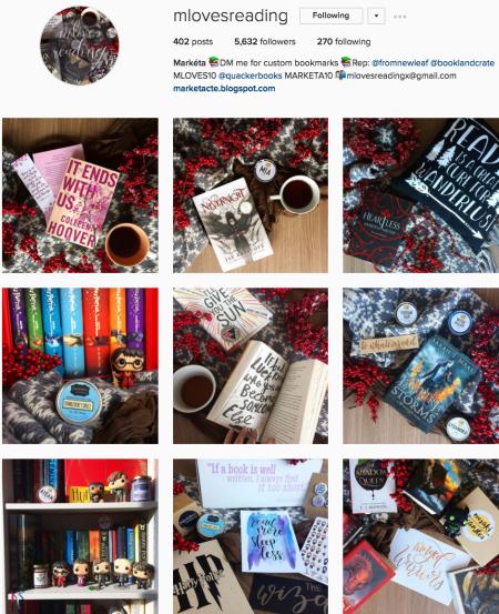 @mlovesreading Instagram preview
