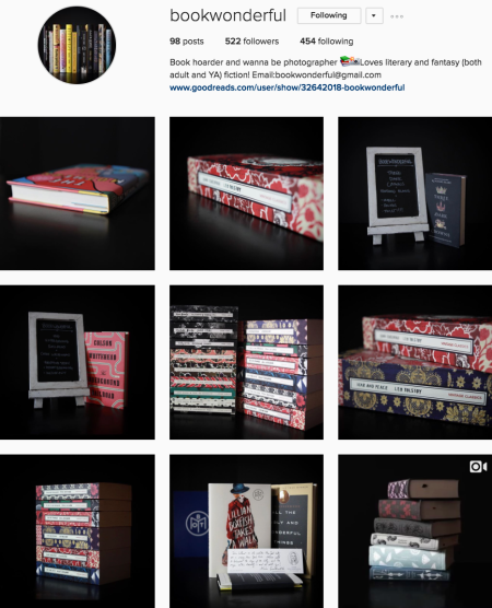 @bookwonderful Instagram preview