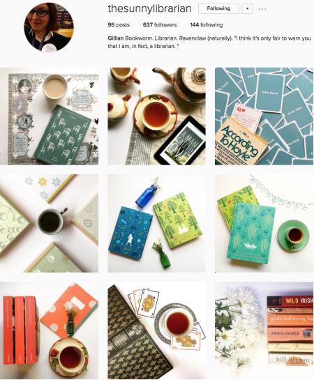 @thesunnylibrarian Instagram preview