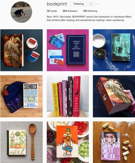 @bookprint Instagram preview