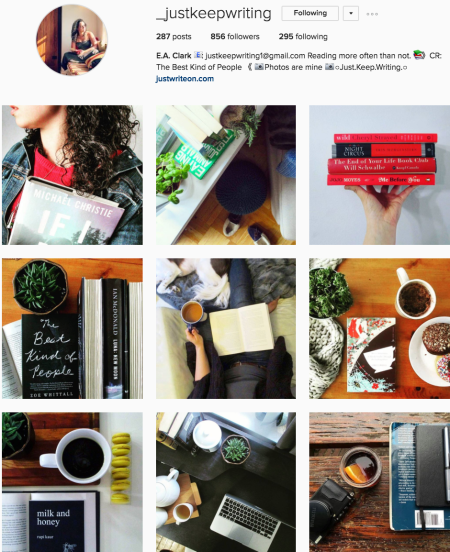 @_justkeepwriting Instagram preview