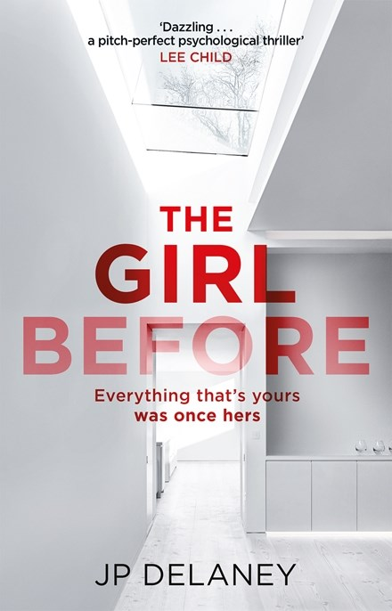 The Girl Before by J P Delaney book cover