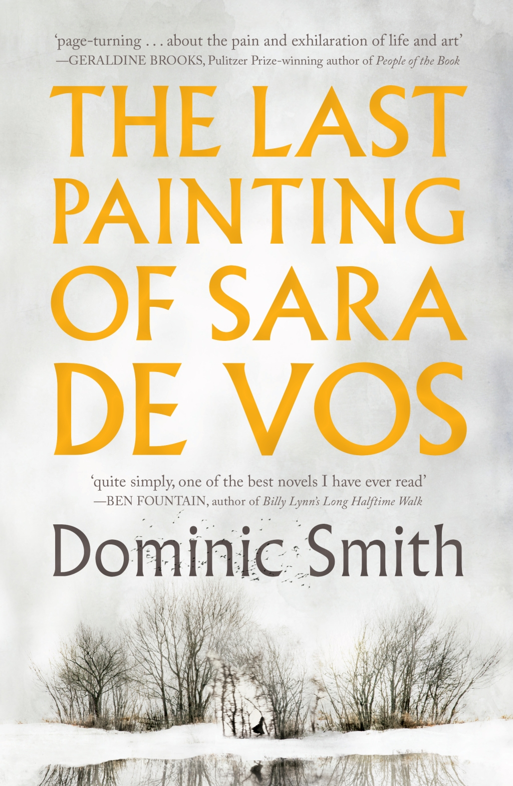 The Last Painting of Sara de Vos by Dominic Smith Book Cover