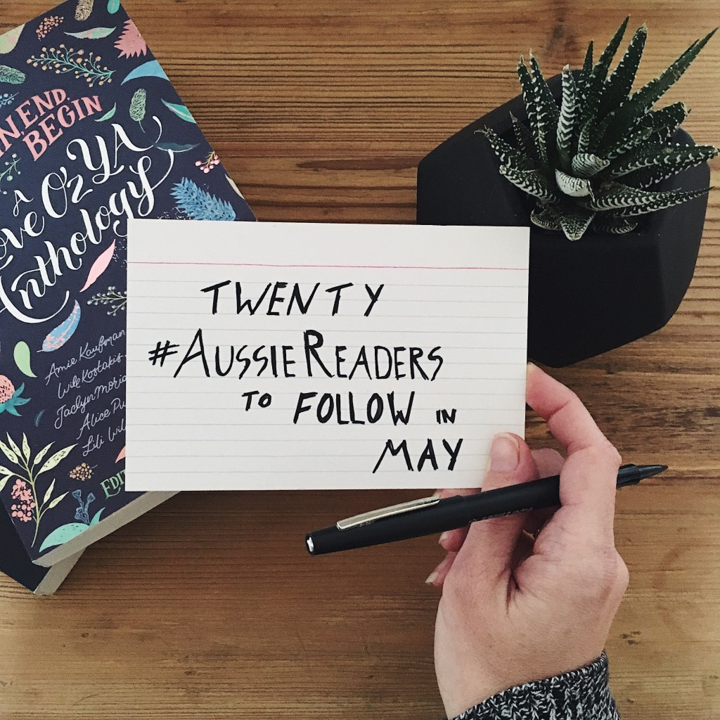 20 #AussieReaders to Follow in May