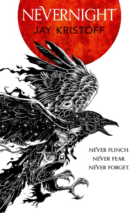 Nevernight book cover