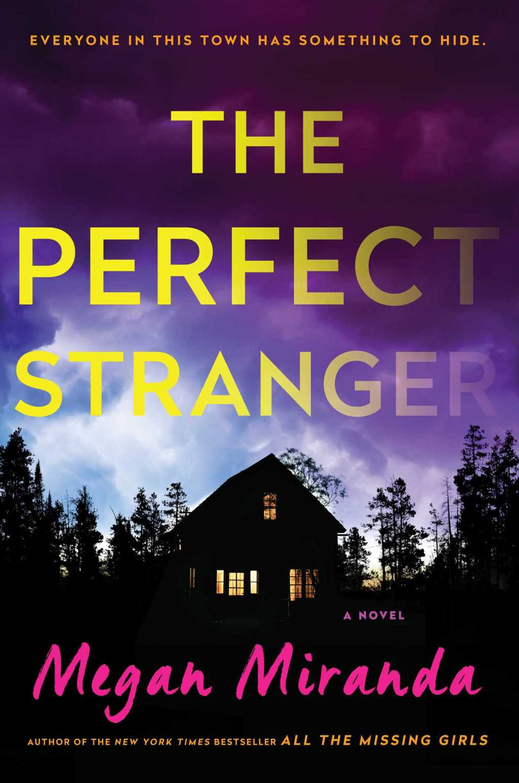The Perfect Stranger by Megan Miranda book cover
