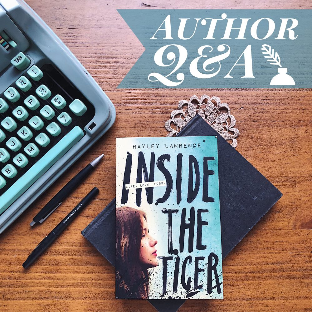 Author Interview: Hayley Lawrence #LoveOzYA author Inside the Tiger